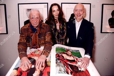 David Bailey, Catherine Bailey and Benedikt Taschen