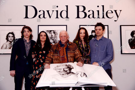 Sascha Bailey, Paloma Bailey, David Bailey, Catherine Bailey and Fenton Bailey