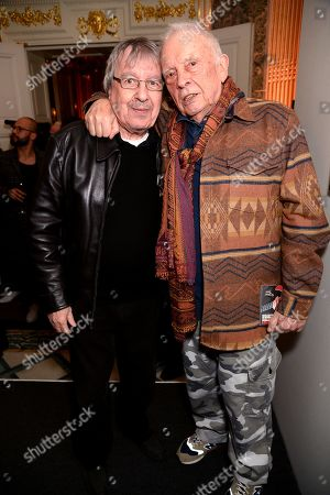 Bill Wyman and David Bailey