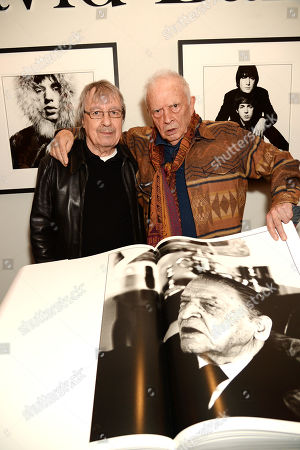 Stock Photo of Bill Wyman and David Bailey