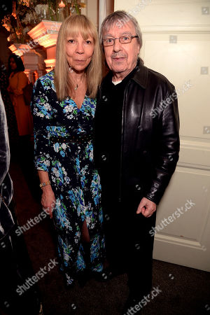 Penelope Tree and Bill Wyman