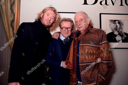 Stock Photo of Nicky Clarke, John Swannell and David Bailey