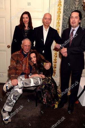 Marlene Taschen, David Bailey, Catherine Bailey, Benedikt Taschen and Reuel Golden