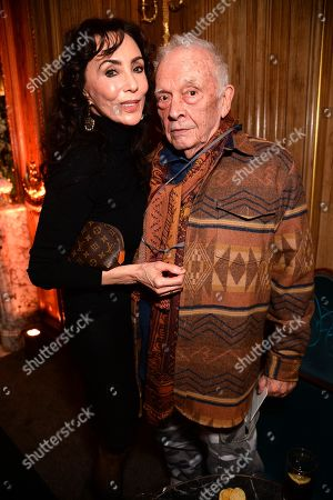 Stock Picture of Marie Helvin and David Bailey