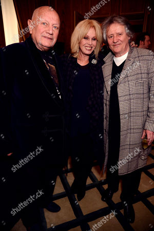 Steven Berkoff, Joanna Lumley and Stephen Barlow