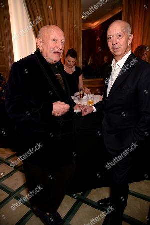 Steven Berkoff and Benedikt Taschen