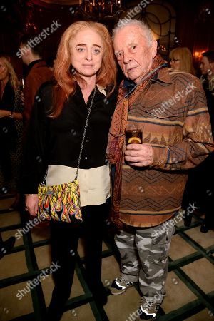 Camilla Lowther and David Bailey
