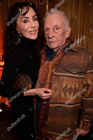 Marie Helvin and David Bailey