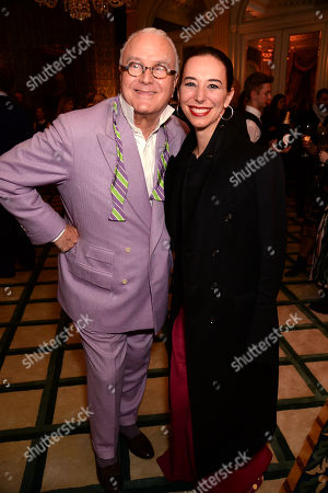 Manolo Blahnik and Kristina Blahnik