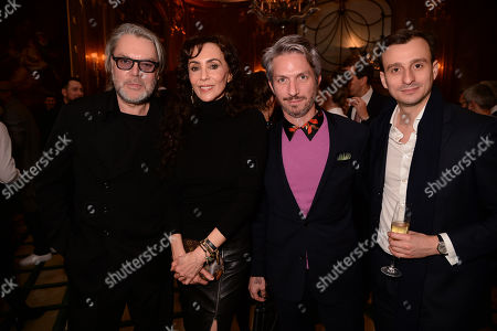 David Downton, Marie Helvin and guests
