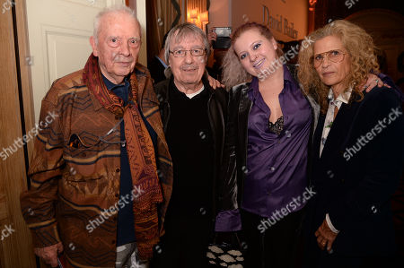 David Bailey, Bill Wyman, Katherine Noelle Wyman and Suzanne Wyman