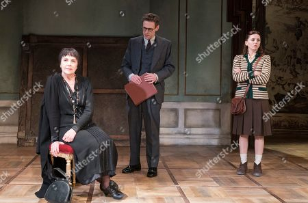 Penelope Wilton as Valentina, Martin Hutson as Assistant Curator, Ophelia Lovibond as Sophie,