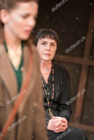 Ophelia Lovibond as Sophie,  Penelope Wilton as Valentina