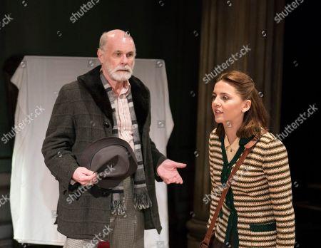 David Rintoul as Peter, Ophelia Lovibond as Sophie,