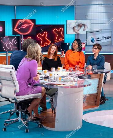 Editorial picture of 'Good Morning Britain' TV show, London, UK - 20 Mar 2019