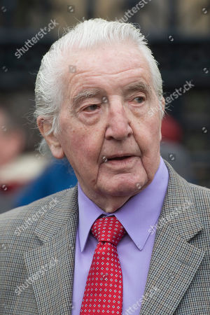 Stock Image of Labour Party MP Dennis Skinner spotted in Westminster.