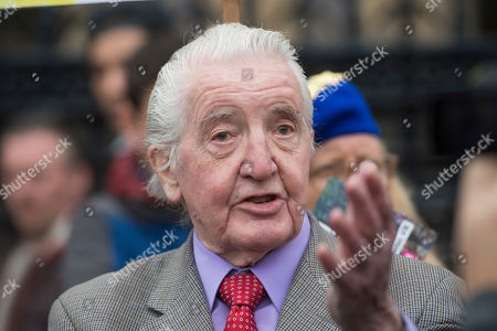 Stock Photo of Labour Party MP Dennis Skinner spotted in Westminster.