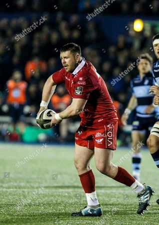Rob Evans of the Scarlets
