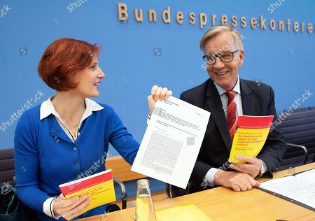 Editorial photo of Left party introduces new proposal against old age poverty, Berlin, Germany - 20 Mar 2019
