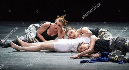 Rupert Charlesworth as Tamino, Susanna Hurrell, Samantha Price, Katie Stevenson