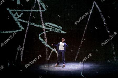 Stock Image of Rupert Charlesworth as Tamino
