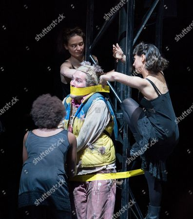 Editorial picture of 'The Magic Flute' Opera performed by English National Opera at the London Coliseum, UK, 13 Mar 2019