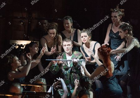 Editorial photo of 'The Magic Flute' Opera performed by English National Opera at the London Coliseum, UK, 13 Mar 2019