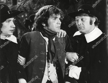 David Warbeck as Anton Hoffer and Harvey Hall as Franz