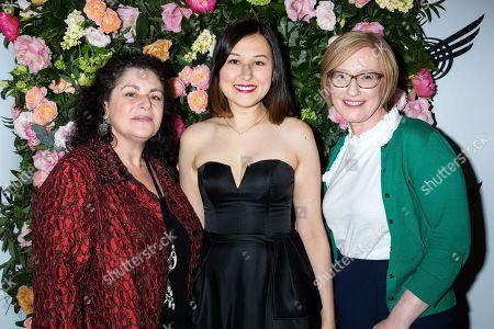 Julie Larson, Emily Gardner Xu Hall, Heather Hitchens