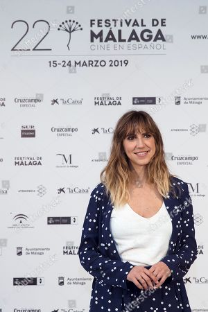 Aina Clotet poses after the screening of the film '7 Reasons to Run Away' at the Cervantes Theatre as part of the Malaga Film Festival, in Malaga, Spain, 20 March 2019. The movie runs in the official section of the festival running from 15 March to 24 March.