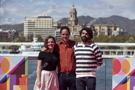 Spanish actress Maria Rodriguez Soto, director Carlos Marques-Marcet and actor David Verdaguer pose during the photocall of the movie 'The days to come', directed by Spanish filmmaker Carlos Marques-Marcet, as part of the 22nd Malaga Film Festival, in Malaga, southern Spain, 20 March 2019. The film competes in the official section of the festival, which runs from 15 March to 24 March.