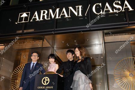 Aoi Miyazaki, Hidetoshi Nishijima, Roberta Armani