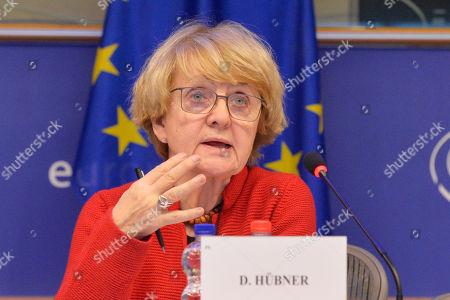 Stock Image of Danuta Hubner