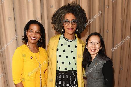 Johana Hayes, Carla Hall and Leana Wen