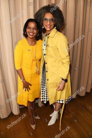 Johana Hayes and Carla Hall