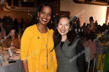 Johana Hayes and Leana Wen