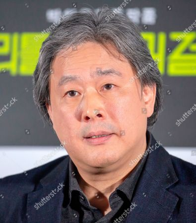 Stock Image of Park Chan-Wook