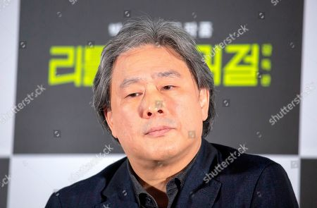 Stock Photo of Park Chan-Wook