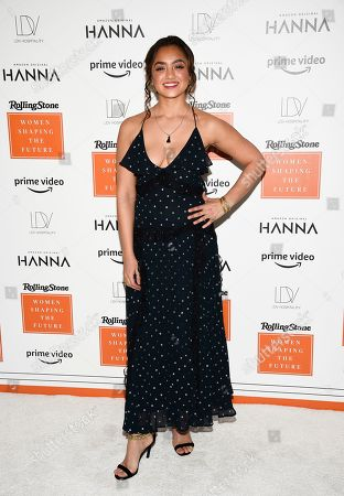 Shazi Raja attends Rolling Stone's Women Shaping the Future brunch at The Altman Building, in New York