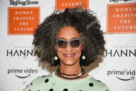 Chef Carla Hall attends Rolling Stone's Women Shaping the Future brunch at The Altman Building, in New York