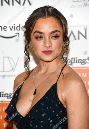 Stock Picture of Shazi Raja attends Rolling Stone's Women Shaping the Future brunch at The Altman Building, in New York