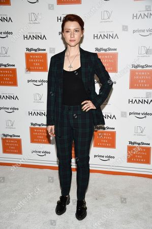Valorie Curry attends Rolling Stone's Women Shaping the Future brunch at The Altman Building, in New York