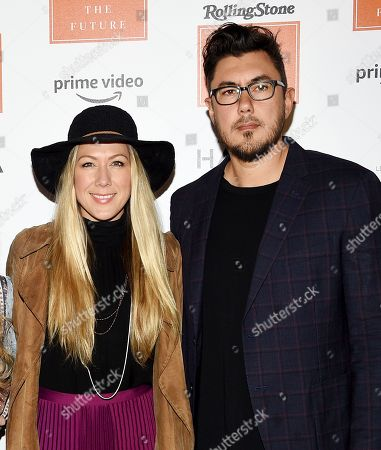 Colbie Caillat, Justin Young. Singer-songwriter Colbie Caillat, left, and fiancé Justin Young attend Rolling Stone's Women Shaping the Future brunch at The Altman Building, in New York