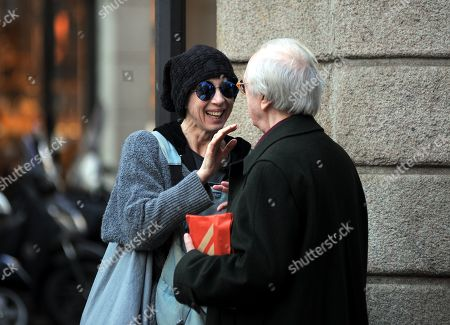 Editorial picture of Veronica Pivetti out and about, Milan, Italy - 20 Mar 2019