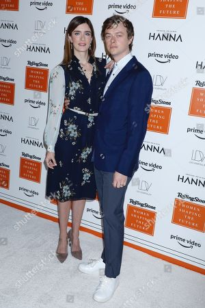 Stock Picture of Anna Wood and Dane Dehaan