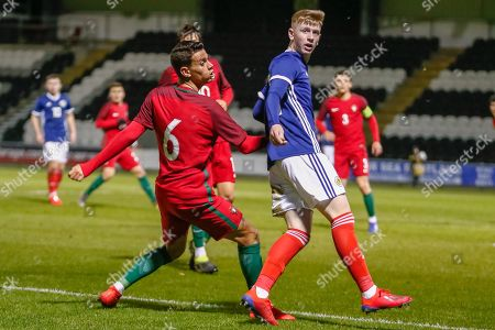 Editorial image of Portugal v Scotland, U17 European Championships., Elite Round - 12 Mar 2019