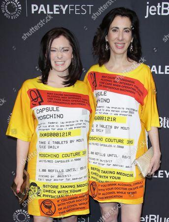 Rachel Bloom and Aline Brosh McKenna