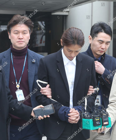 Editorial image of Trial of K-pop star Jung Joon-young, Seoul, Korea - 21 Mar 2019