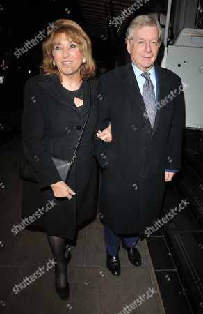 Stock Photo of Eve Pollard and Nicholas Lloyd