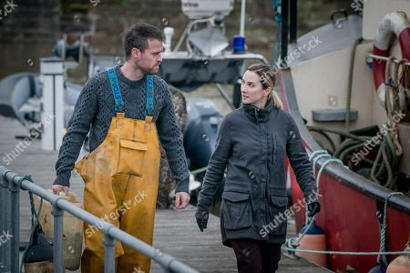Jonas Armstrong as Sean and Morven Christie as Lisa Armstrong